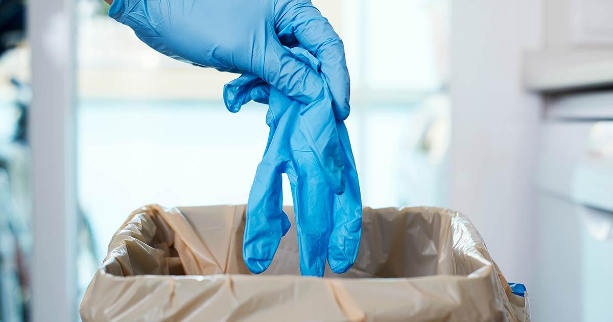 zascitne maske, rokavice iz lateksa